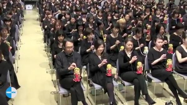 L'Ode à la joie de Beethoven interprétée par 300 Japonaises - Sputnik France