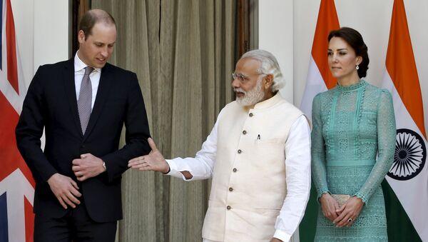 Quand le premier ministre indien a la poignée de main d'un superhéros - Sputnik France