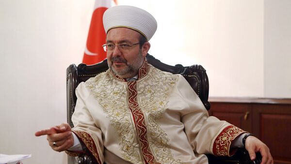 Le grand Mufti de Turquie, Mehmet Görmez - Sputnik France