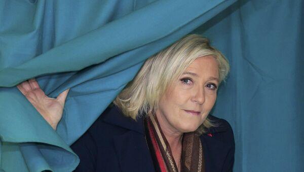 Marine Le Pen sur les pas de Trump en 2017? - Sputnik France
