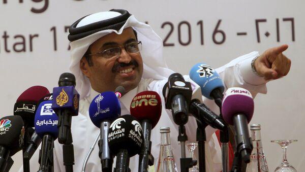 Ministre qatari de l'Energie Mohammed al-Sada - Sputnik France