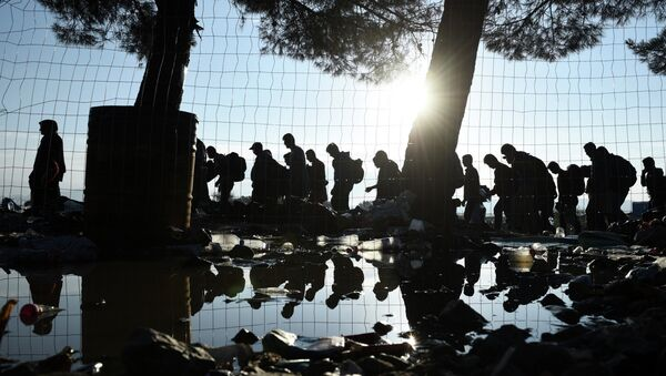Réfugiés en Grèce - Sputnik France
