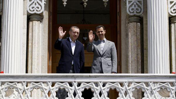 Assad et Erdogan - Sputnik France
