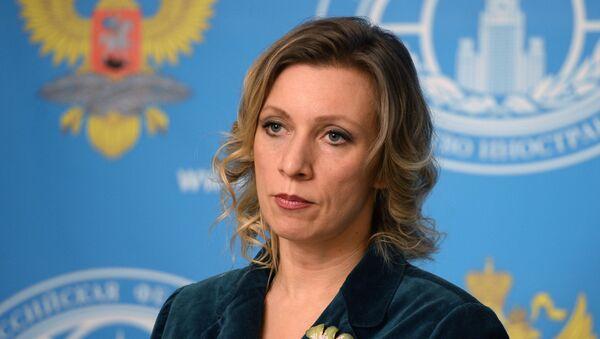 La porte-parole de la diplomatie russe Maria Zakharova - Sputnik France