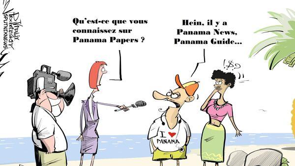 Panama Papers? Au Panama, jamais entendu parler! - Sputnik France