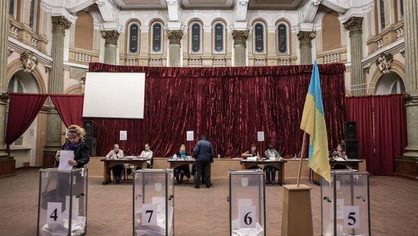 Les élections ukrainiennes - Sputnik France