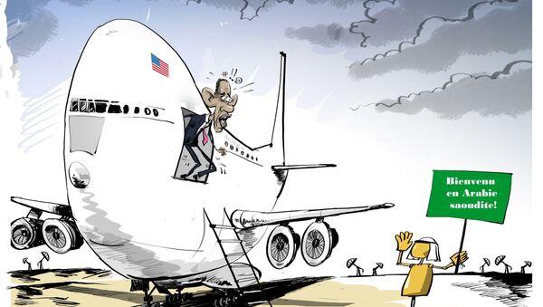 Riyad réserve un accueil glacial à Obama - Sputnik France
