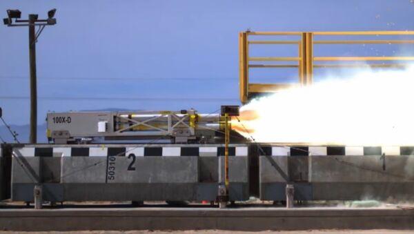 Un nouveau train à sustentation magnétique à grande vitesse testé aux USA - Sputnik France