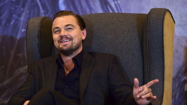 Di Caprio organise un dîner pour soutenir Hillary Clinton - Sputnik France