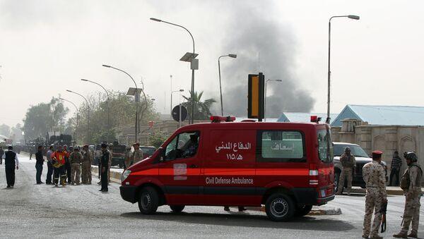 Une ambulance à Bagdad - Sputnik France