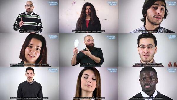 Vous cherchiez Pegida sur Youtube? Des migrants vous parlent - Sputnik France
