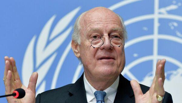 L'émissaire spécial de l'ONU pour la Syrie, Staffan de Mistura - Sputnik France