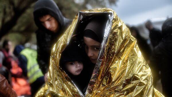 Enfants migrants - Sputnik France