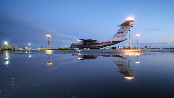 avion d`Urgences Ministère - Sputnik France