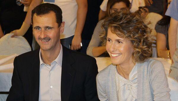 Bachar el-Assad et son épouse Asma - Sputnik France