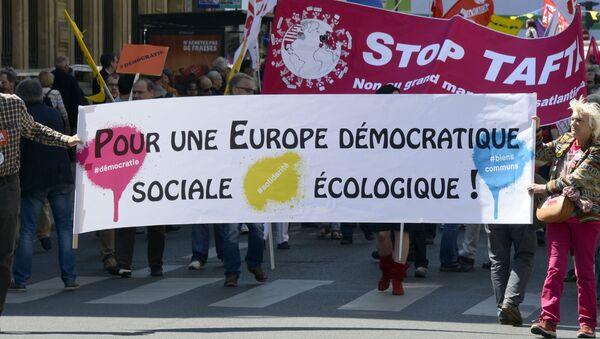 grève contre TAFTA - Sputnik France