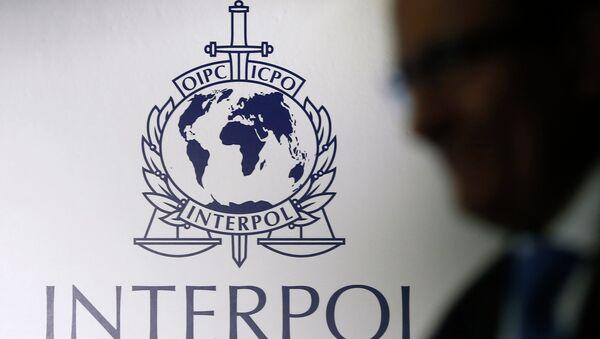 Interpol logo - Sputnik France