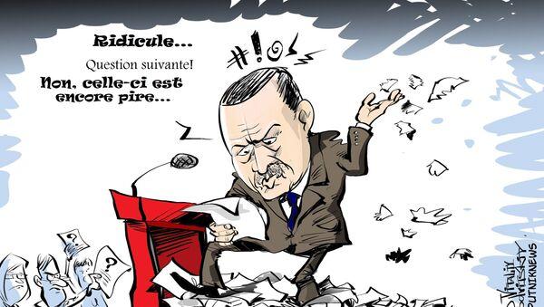 Turquie: un journaliste étranger? Dehors! - Sputnik France