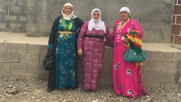 Quand on en aura fini avec Daech, nous renterons à la maison disent les réfugiés kurdes - Sputnik France