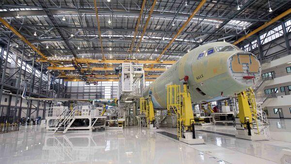 Le constructeur européen Airbus a livré son premier avion de ligne produit aux États-Unis - Sputnik France