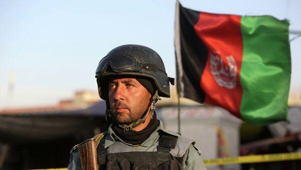Un combattant des forces de sécurité afghanes - Sputnik France