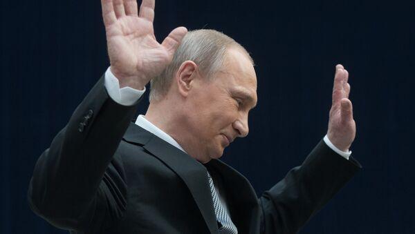 Vladímir Poutine - Sputnik France