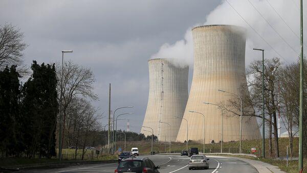La centrale nucléaire belge de Tihange - Sputnik France