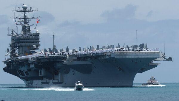 Le porte-avions nucléaire USS John C.Stennis - Sputnik France