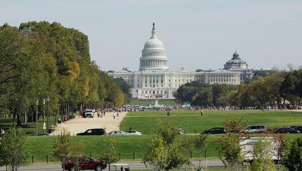 Le  Capitole des Etats-Unis, siège du Congrès - Sputnik France