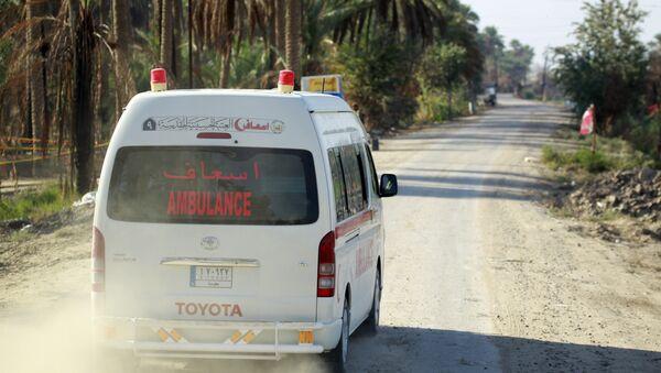 Une ambulance irakienne - Sputnik France