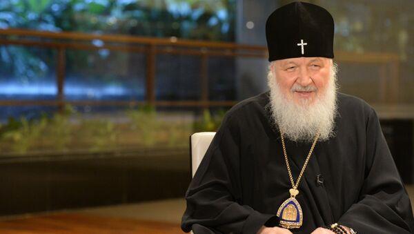 Le patriarche Kirill - Sputnik France