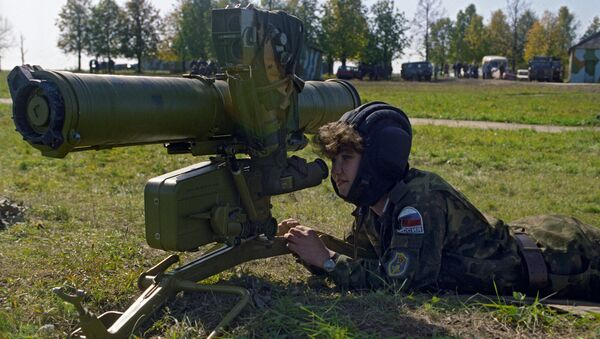 Une femme commando russe - Sputnik France