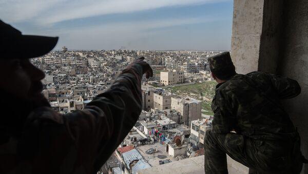 Les militaires syriens à Alep - Sputnik France