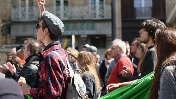 manifestants - Sputnik France