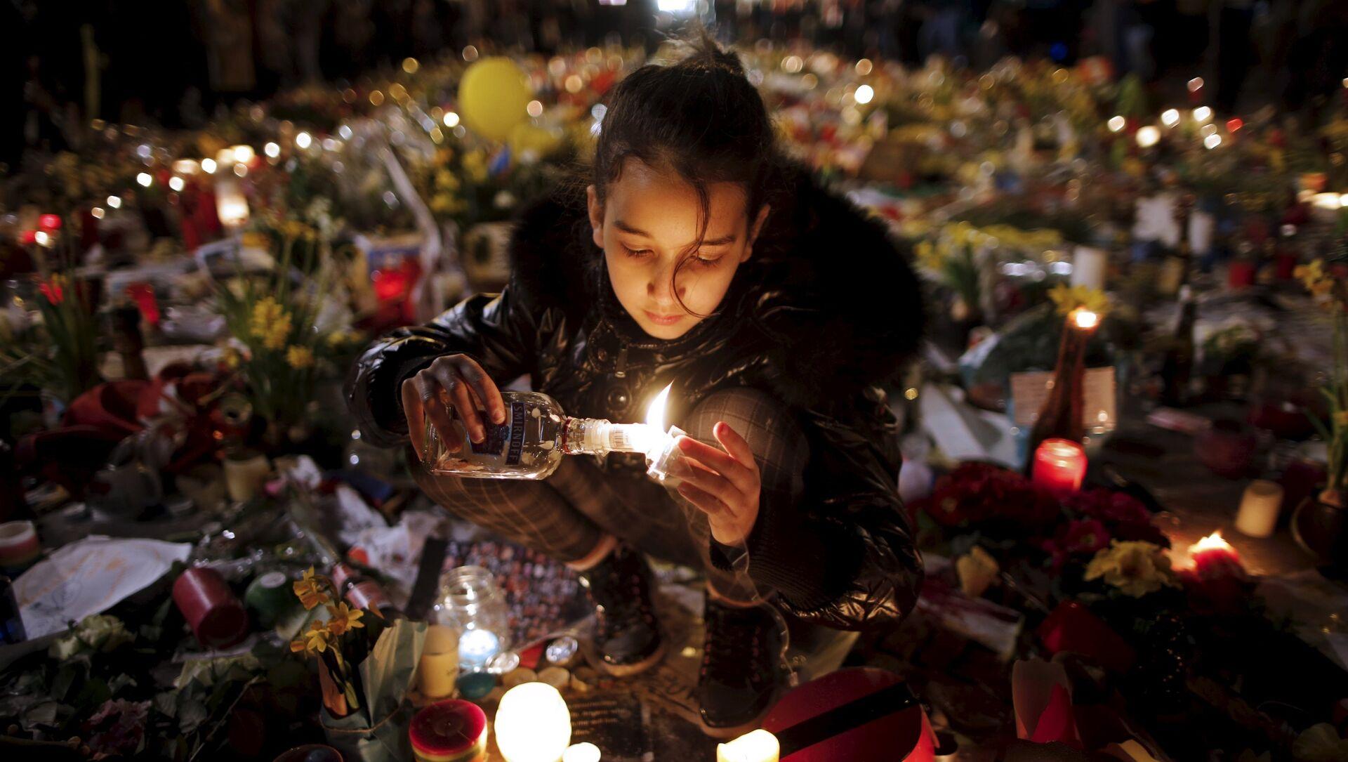 Les hommages en mémoire des victimes des attentats de Bruxelles - Sputnik France, 1920, 17.09.2021