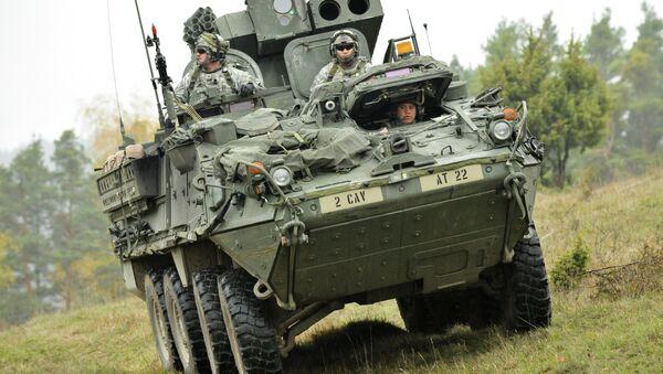 Manoeuvres militaires US.Image d'illustration - Sputnik France