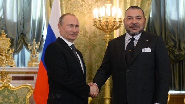 Visite du roi du Maroc Mohamed VI en Russie - Sputnik France