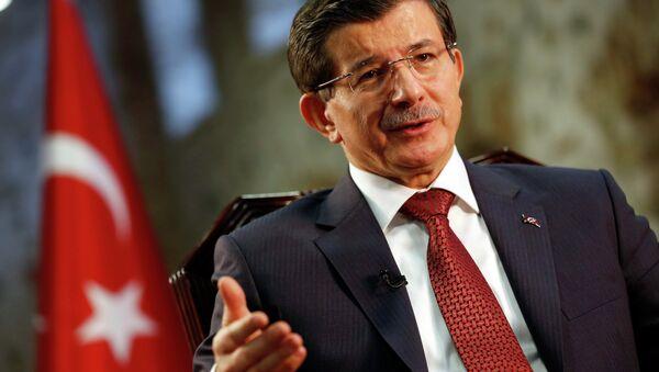 L'ancien premier ministre turc Ahmet Davoutoglu - Sputnik France