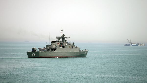 Le navire iranien Alborz dans le détroit d'Ormuz (archive photo) - Sputnik France