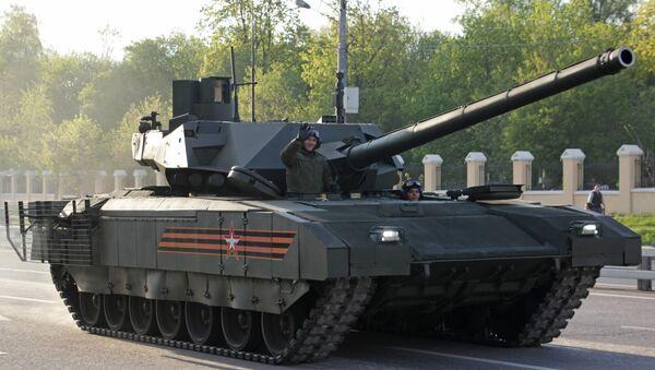 T-14 Armata. Répétition du défilé de la Victoire, Moscou - Sputnik France
