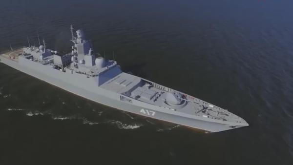 Le frégate du projet 22350 Amiral Gorchkov - Sputnik France