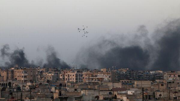 Pilonnage des quartiers chrétiens d'Alep - Sputnik France