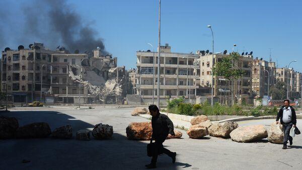 Militants shell a district in Aleppo - Sputnik France