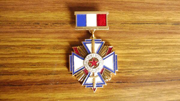 L'Association nationale des anciens combattants de la Résistance (ANACR) s'est créée. J'étais là-bas, j'ai expliqué mon cas.  - Sputnik France
