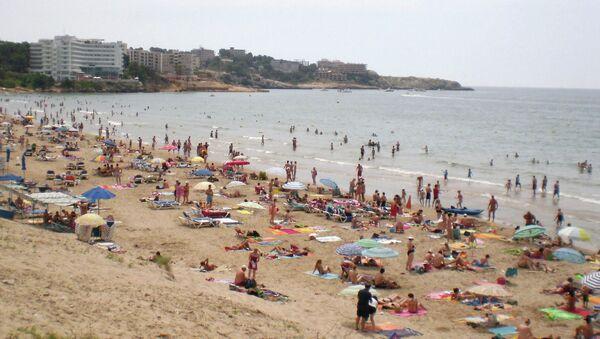 Une plage de la Costa Daurada, en Catalogne - Sputnik France