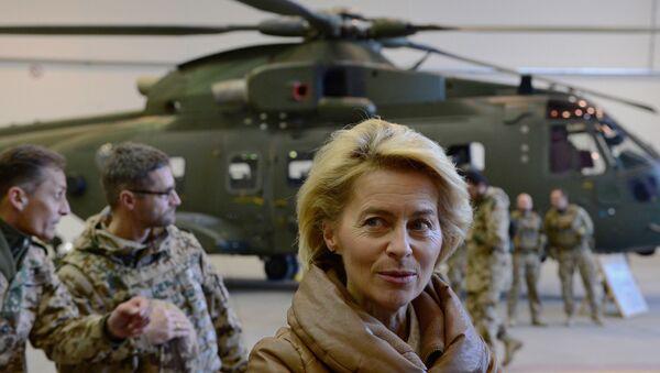 La ministre allemande de la Défense Ursula von der Leyen - Sputnik France