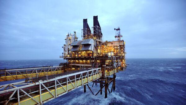 Plate-forme pétrolière en mer du Nord - Sputnik France