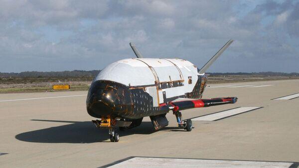 La navette américaine Boeing X-37B - Sputnik France