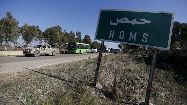 La province syrienne de Homs - Sputnik France