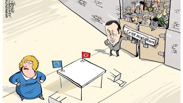 Le régime de visas entre la Turquie et l'UE maintenu? - Sputnik France